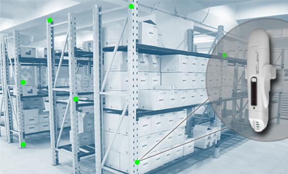 Температурное картирование фармацевтического склада