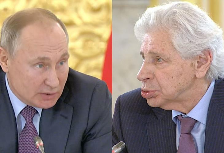 Генри Резник выступил на заседании СПЧ, проведенном Президентом РФ Владимиром Путиным