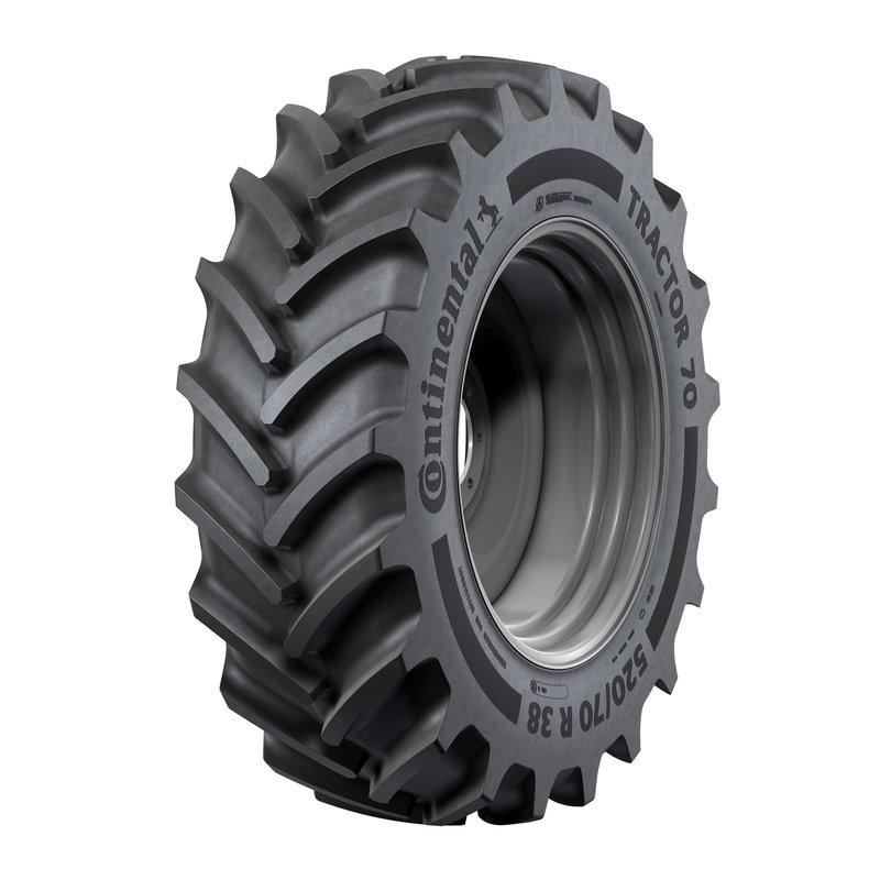 Новые шины для тракторов от Continental