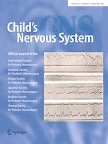 Child's Nervous System cover image