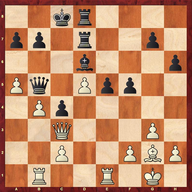 Чёрные планируют сыграть 31…е4