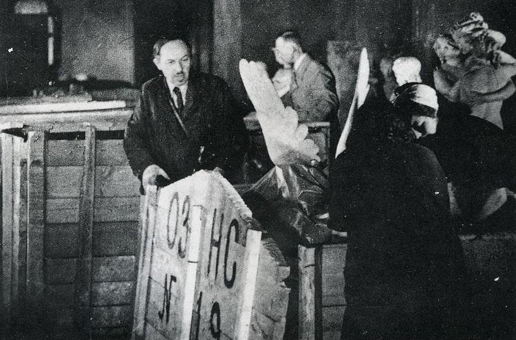 История: 75 лет назад в Свердловск прибыл эшелон с коллекцией Эрмитажа