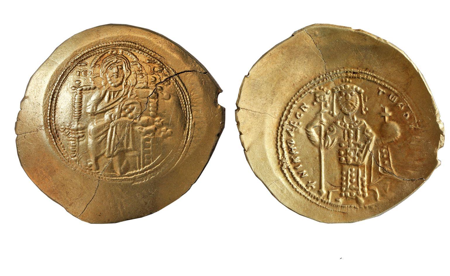 В Фанагории найдены монеты византийских императоров