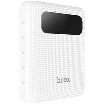 Аккумулятор внешний универсальный  Hoco B20 10000 mAh  Mige Power Bank (2USB 5V-2.1A)