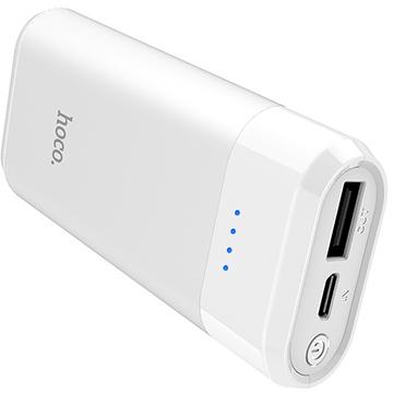 Аккумулятор внешний универсальный Hoco B35A-5200 mAh Entourage mobile Power bank (USB 5V-1.0A)