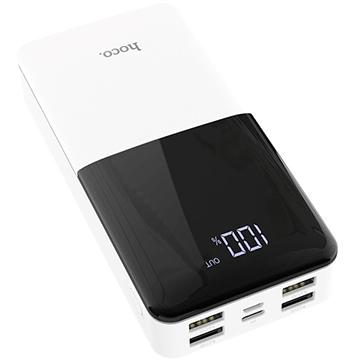 Аккумулятор внешний универсальный  Hoco J42A 20000 mAh  High power mobile power bank  (4USB5V-2.0A Max)