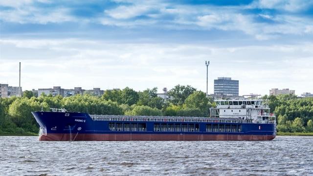 «Окская судоверфь» сдала в эксплуатацию седьмое судно проекта RSD32M