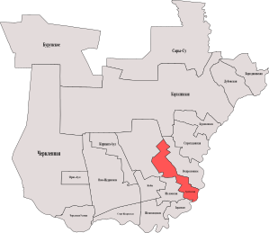 Гребенское сельское поселение на карте