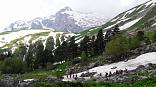 Туристский маршрут 30, поход через горы к морю