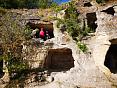 Поход в Крыму по пещерным городам, тур с выходом к морю
