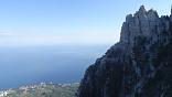 Горный маршрут в Крыму, поход через горы к морю