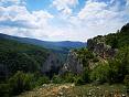 Поход через горы к морю в Крыму