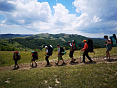 Горный поход через горы к морю в Крыму, активный тур в горах Крыма