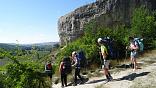 Поход горы - море в Крыму, маршрут по горному Крыму с рюкзаками