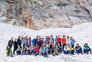 Ледник на горе Фишт, Тридцатый маршрут, поход через горы к морю