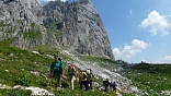 Туристский поход, маршрут 30, тур через горы к морю