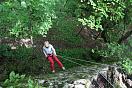 Спуск со скалы, активный отдых в России
