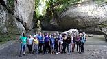 Активный туризм в Хаджохе, туристы маршрута 30