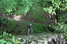Спуск по веревке, активный отдых в Адыгее