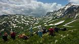 Туризм в России, тур через горы к морю, маршрут 30