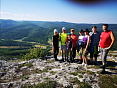 Тур в горах Крыма, поход через горы к морю