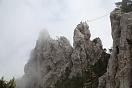 Поход Крымских горах, тур через горы к морю
