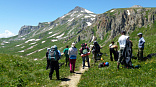 Это фото с тура Легендарная Тридцатка, знаменитый маршрут 30 - через горы к Черному морю с легким рюкзаком