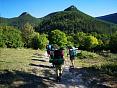 Пеший горный поход в Крыму, маршрут через горы Крыма к морю