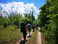 Туристский поход в Крыму, горный маршрут по пещерным городам, поход к морю