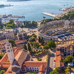 курорт Пула в Хорватии