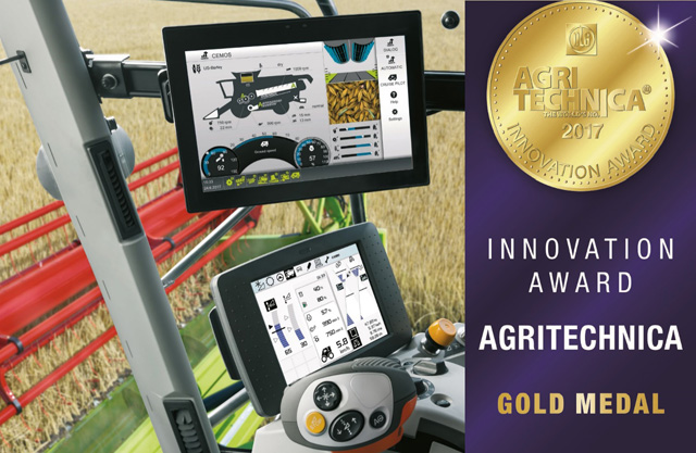 CLAAS завоевал 5 наград на Innovation Award Agritechnica
