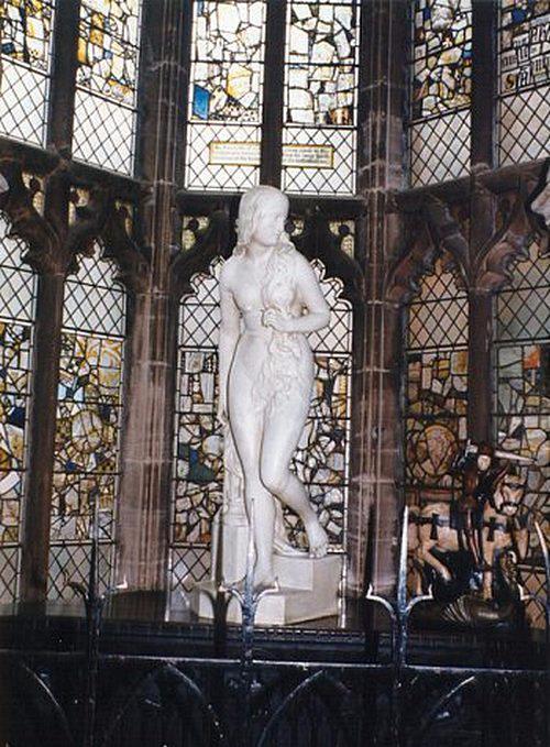 Statue of Lady Godiva in St Mary's Hall, from Coventry City Council - Статуя Леди Годива в зале Св. Марии, в Городском совете Ковентри (500x679, 358Kb)