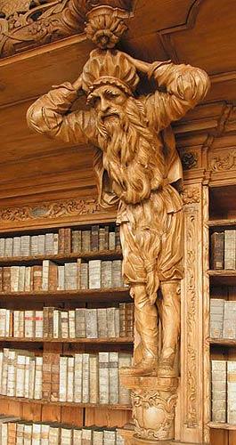 Waldsassen Abbey Library (Mice in Beard) (265x500, 39Kb)