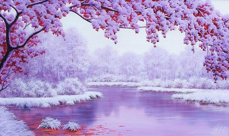 Зимний пейзаж ...