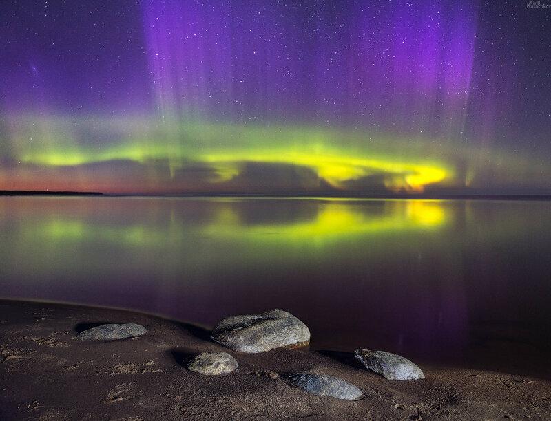 Великолепные и сказочные моменты...буйство волшебных красок земной природы!