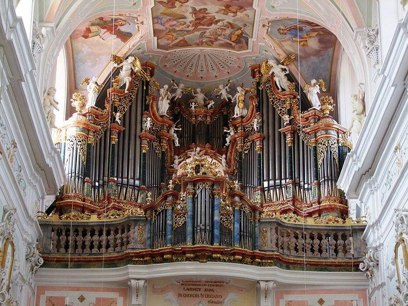 7. Церковь Св. Георгия (Оксенхаузен, Германия) музыкальный инструмент, орган