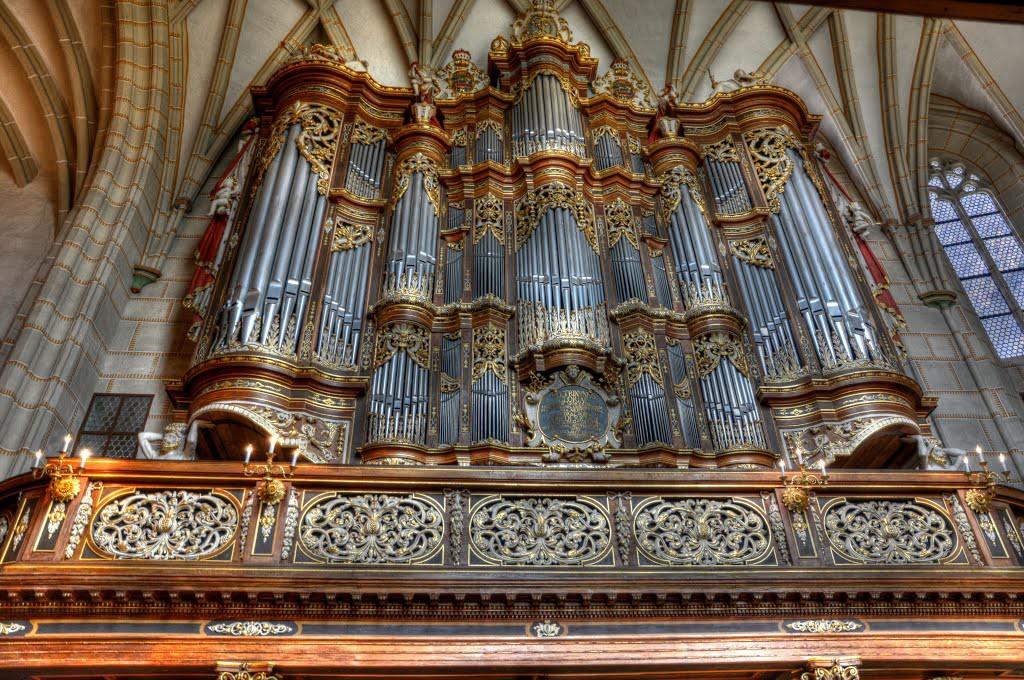 8. Орган Троста (Альтенбург, Германия) музыкальный инструмент, орган