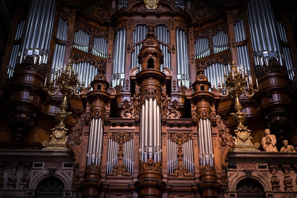 4. Берлинский кафедральный собор (Берлин, Германия) музыкальный инструмент, орган