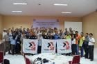 """""""Hidup Buruh!"""" – заявляют индонезийские профсоюзы, борющиеся за права работников цементной отрасли"""
