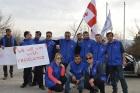 Грузия: Профсоюз одерживает победу после месячной забастовки на стеклозаводе