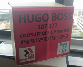 """Антипрофсоюзные действия Hugo Boss в Турции """"наносят ущерб бренду"""""""
