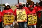 Горняки шахты Impala Platinum в ЮАР попали в подземную ловушку
