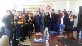 IndustriALL провел семинары по всему Кыргызстану