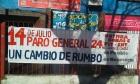 Огромное число уругвайцев поддержали забастовку, требуя повышения зарплат