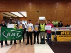 Работники Северного моря вновь бастуют, получив волну поддержки со всего мира