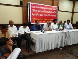 Индийские профсоюзы призывают к всеобщей забастовке