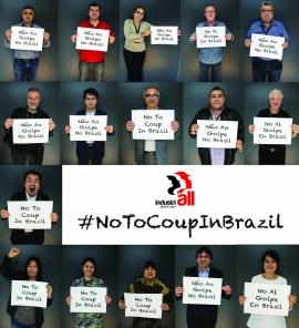 IndustriALL осуждает переворот против демократии в Бразилии