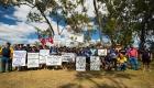 На угольной шахте Anglo American в Австралии продолжается забастовка