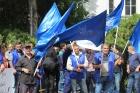 Рабочие завода Азот в Грузии вступают в коллективный трудовой спор