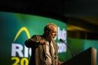 Делегатов съезда IndustriALL приветствовал экс-президент Бразилии Лула
